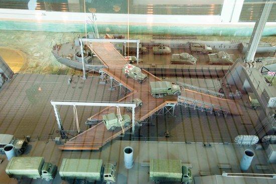 Musee du debarquement : des maquettes réalistes