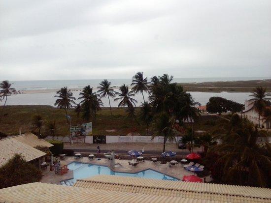 Laguna Blu Hotel: Vista do hotel -Mar e o Rio