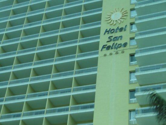 Bahia Principe San Felipe: Frente del Hotel