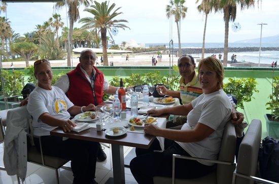 Bahia Principe San Felipe: Vista a las piletas desde el restaurante