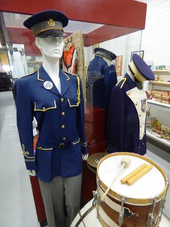 Trochu and District Museum: Trochu marching band exhibit