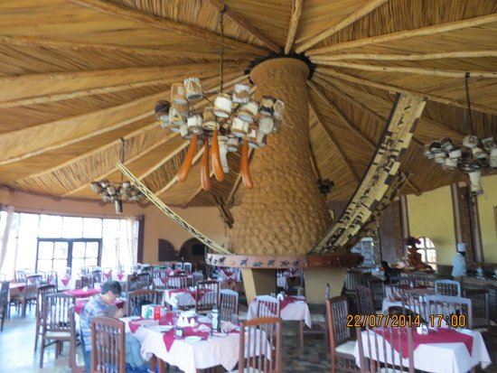 Amboseli Sopa Lodge: The restaurant