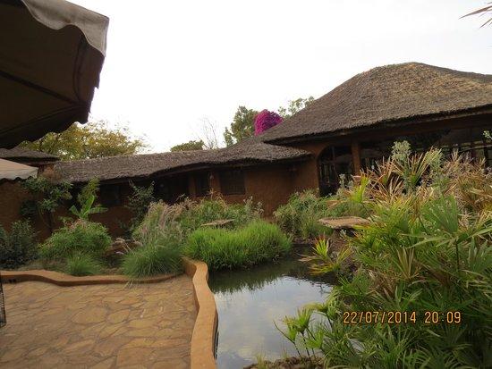 Amboseli Sopa Lodge : Inside the resort