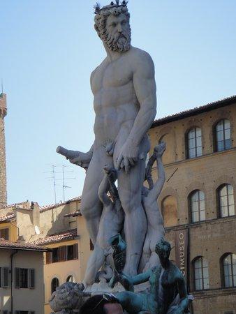 Piazza della Signoria: Fonte de Netuno