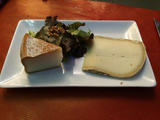 le bonheur est dans le sud: Dessert fromage.