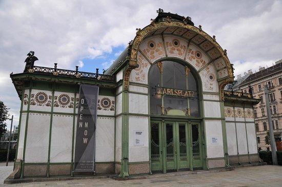 Karlsplatz: Antiguo Metro
