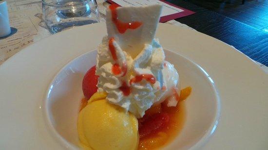 La Coulemelle : Un dessert