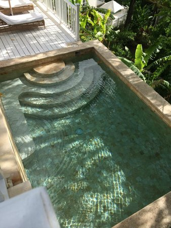 Sugar Beach, A Viceroy Resort: private plunge pool