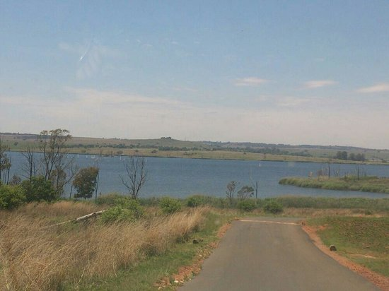 Rietvlei Nature Reserve : Another view as you enter park