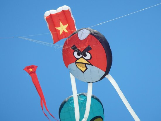 Victoria Hoi An Beach Resort & Spa: kite competition