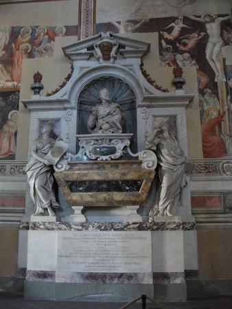 Basilica di Santa Croce: Tumba de Galileu Galilei