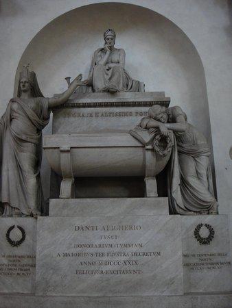 Basilica di Santa Croce: Tumba de Dante Alighieri