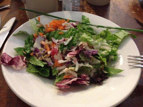 Rheinblick German Restaurant: Dinner Salad