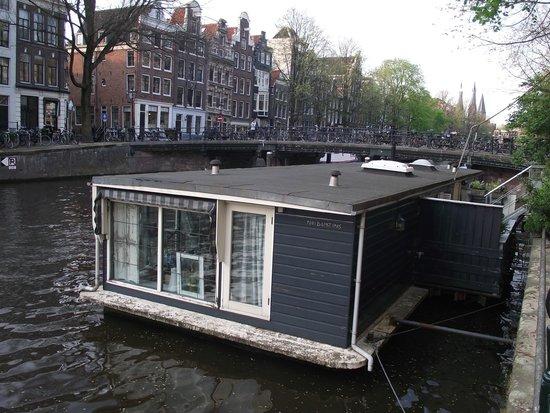 Casa-barco no Herengracht.