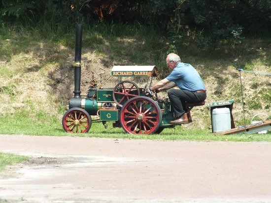 Papplewick Pumping Station: Miniature Traction Engine