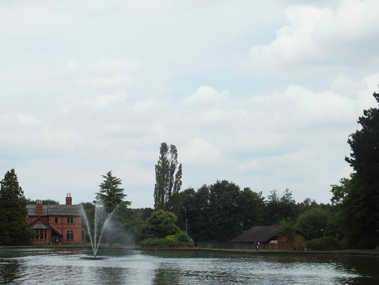 Papplewick Pumping Station: View over Cooling Lake