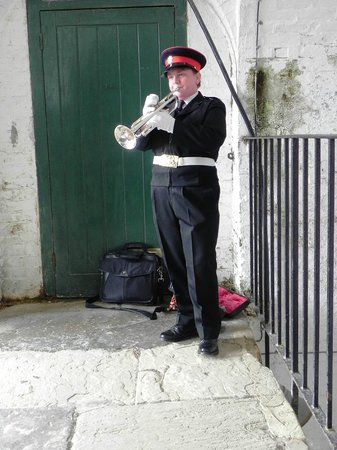 Newhaven Fort: Trumpetter