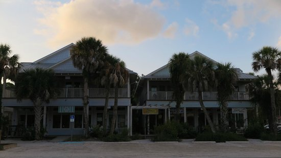 Anna Maria Guest Houses: View from street