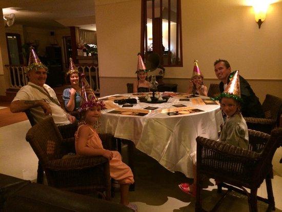 The Pe La Resort: Birthday party