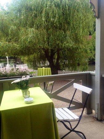 Restaurant Knapp: Udsigt fra vores bord
