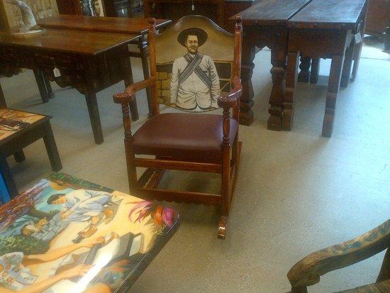 El Paso Saddleblanket: Pancho Villa Rocker