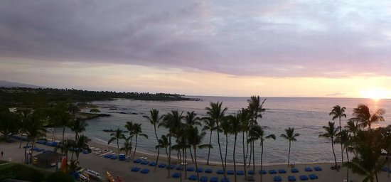 Mauna Lani Bay Hotel & Bungalows : View from Room