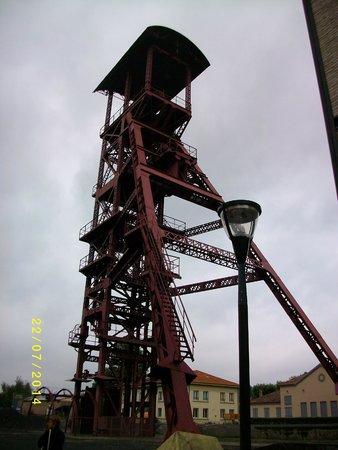 Musee de la Mine: l'entrée extérieure de la mine