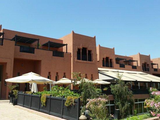 SENTIDO Kenzi Menara Palace : hotel (vue de la court intérieure)