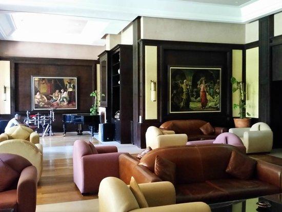 SENTIDO Kenzi Menara Palace : lobby de l'hotel