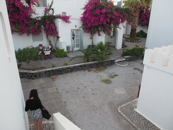 Mediterranean Beach Resort : One of the courtyards