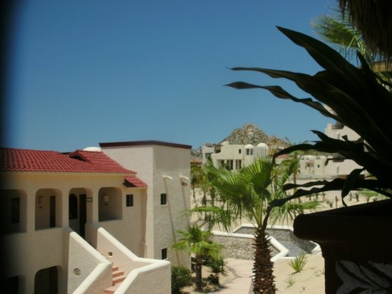 Solmar Resort: view from the center of the hotel