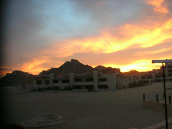 Solmar Resort: sunset from dinner