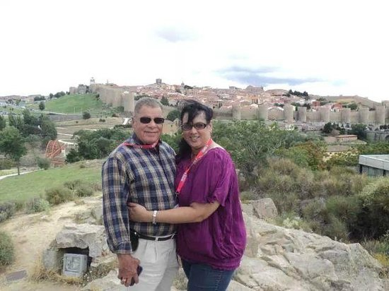 The Walls of Avila : Avila, Spain