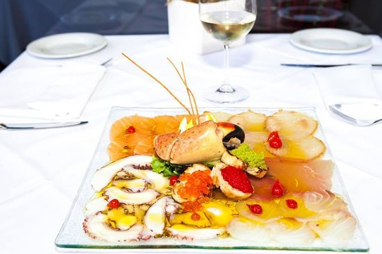 Puntino Key Biscayne: Delicius raw seafood dish!