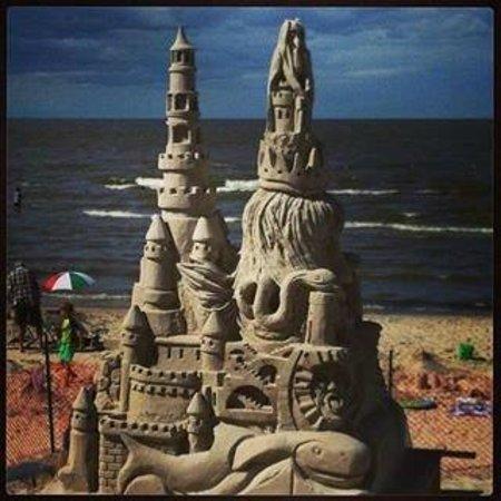 Grand Marais, Καναδάς: manitoba longest running sand castle building contest Grand Beach