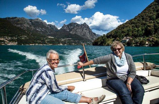 Boat Center Palace Lugano: Sight seeing on Lake Lugano