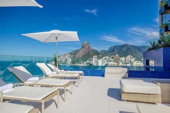 Praia Ipanema Hotel: Rooftop View