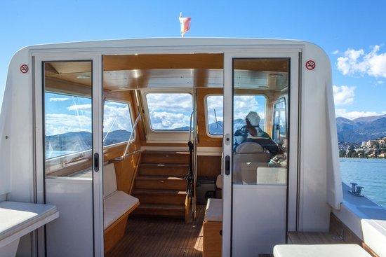 Boat Center Palace Lugano: Inside cabin