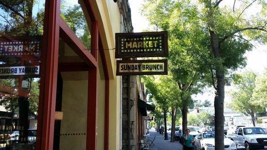 Market : Вход в ресторан