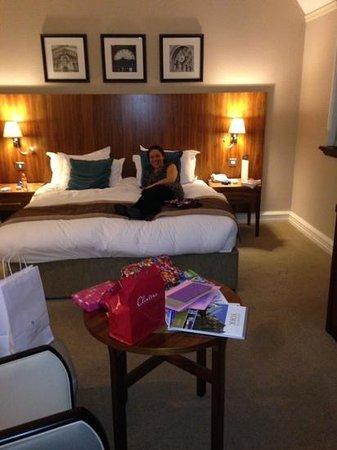 The Grand Hotel & Spa: massive comfy bed ��