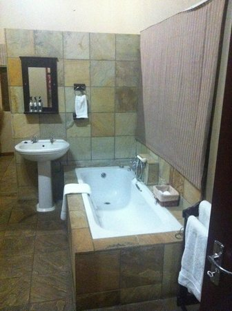 Arathusa Safari Lodge : bagno