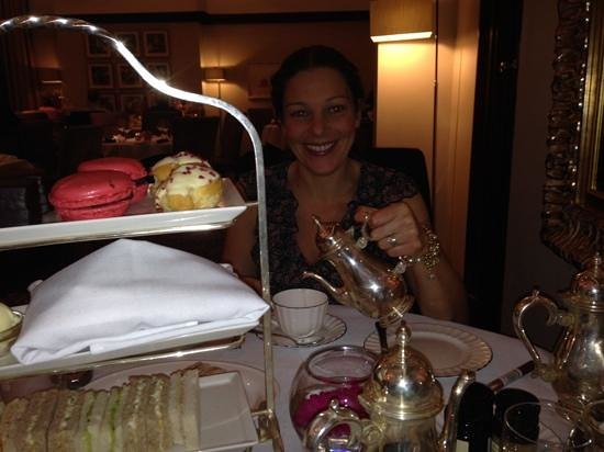 The Grand Hotel & Spa: afternoon tea with the wife ��