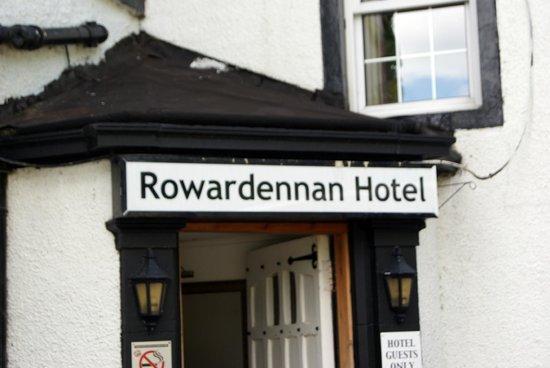 Rowardennan Hotel: Insegna dell'hotel