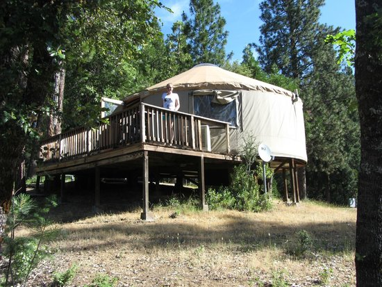 Yosemite Lakes RV Resort: Onze yurt