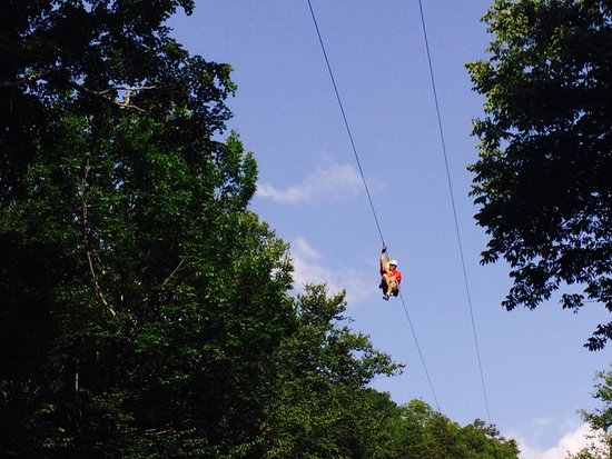 Berkshire East Canopy Tours: Zip Away!!!