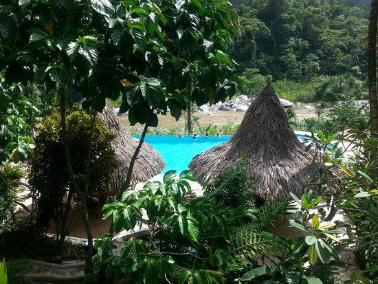 Villas Pico Bonito: View from the Ceiba Tree Lodge