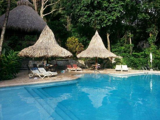 Villas Pico Bonito: Pool and Ceiba Tree Lodge