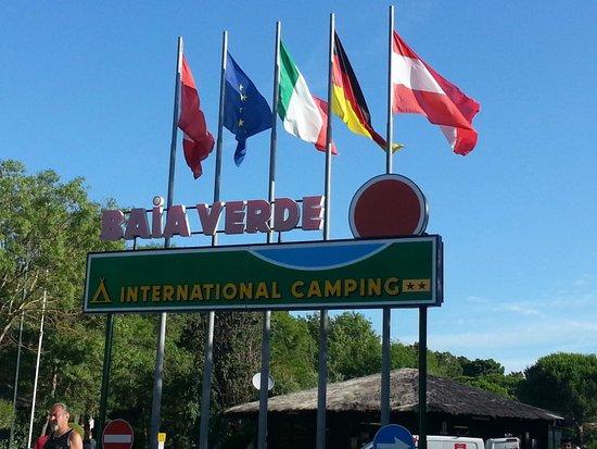 Camping Baia Verde: INGRESSO