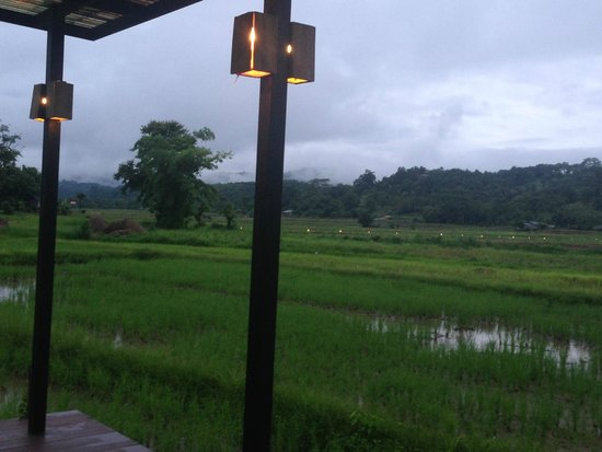Manee Dheva Resort & Spa: from the back deck of the villa