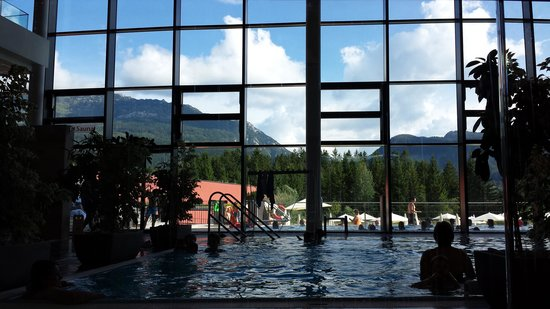Bad Mitterndorf, Österreich: left side of the big pool